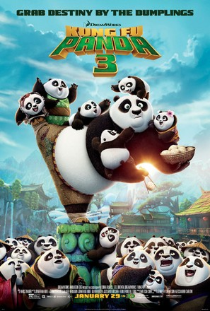Kung Fu Panda 3 - Theatrical movie poster (thumbnail)