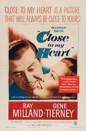 Close to My Heart - Movie Poster (thumbnail)