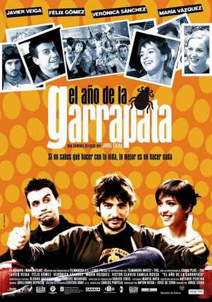 Año de la garrapata, El - Spanish Movie Poster (thumbnail)