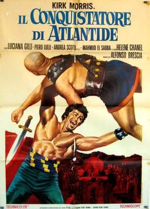 Il conquistatore di Atlantide - Italian Movie Poster (thumbnail)
