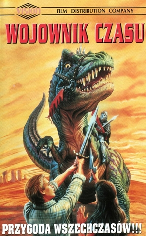 Josh Kirby... Time Warrior: Chapter 1, Planet of the Dino-Knights - Polish Movie Cover (thumbnail)