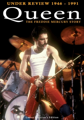 Queen: Under Review 1946-1991 - The Freddie Mercury Story - DVD cover (thumbnail)