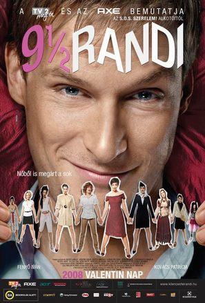 9 és 1/2 randi - Hungarian Movie Poster (thumbnail)