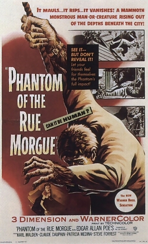 Phantom of the Rue Morgue - Movie Poster (thumbnail)