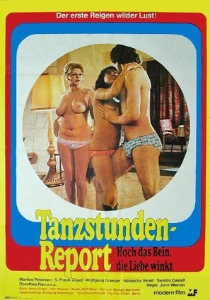 Tanzstunden-Report - German Movie Poster (thumbnail)