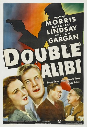 Double Alibi - Movie Poster (thumbnail)