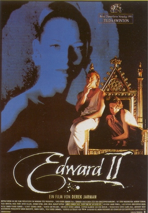 Edward II - German Movie Poster (thumbnail)