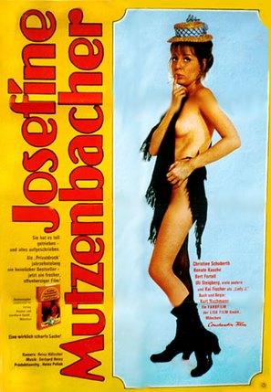 Josefine Mutzenbacher - wie sie wirklich war - German Movie Poster (thumbnail)