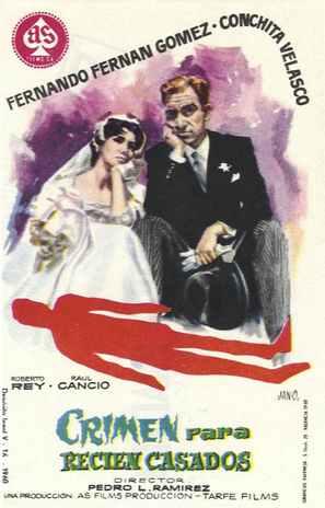Crimen para recién casados - Spanish Movie Poster (thumbnail)