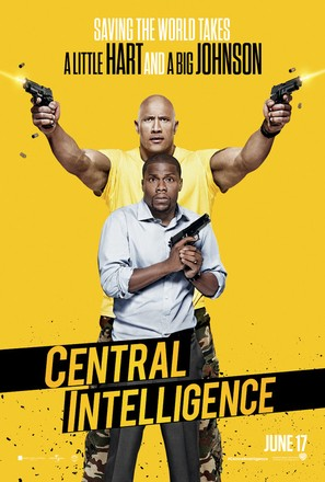 Central Intelligence - Movie Poster (thumbnail)