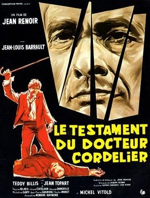 Le testament du Docteur Cordelier - French Movie Poster (thumbnail)