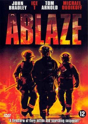 Ablaze - Dutch DVD movie cover (thumbnail)