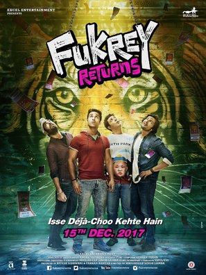 Fukrey Returns - Indian Movie Poster (thumbnail)