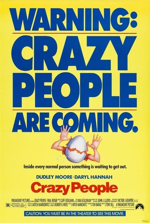 Crazy People - Movie Poster (thumbnail)