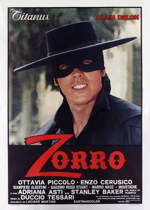 Zorro - Italian Movie Poster (thumbnail)