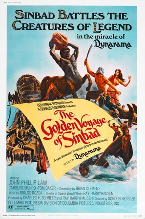 The Golden Voyage of Sinbad - Movie Poster (thumbnail)