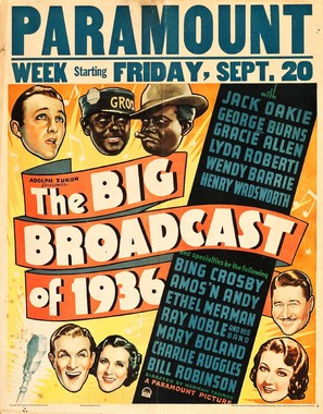 The Big Broadcast of 1936 - Movie Poster (thumbnail)