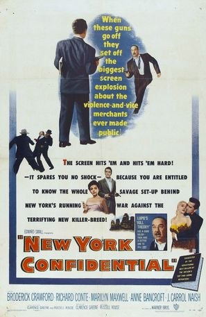 New York Confidential - Movie Poster (thumbnail)