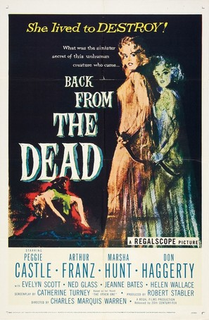 Back from the Dead - Movie Poster (thumbnail)