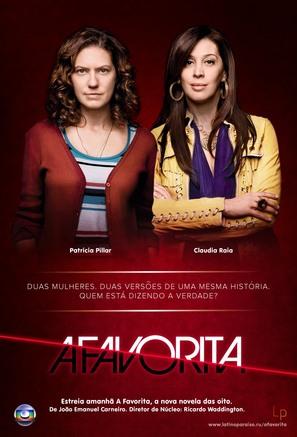 """""""A Favorita"""" - Brazilian Movie Poster (thumbnail)"""