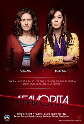 """A Favorita"" - Brazilian Movie Poster (thumbnail)"