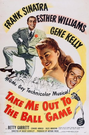 Take Me Out to the Ball Game - Movie Poster (thumbnail)