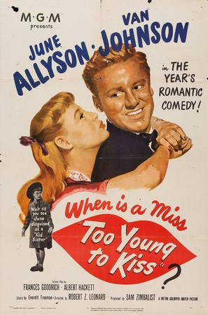Too Young to Kiss - Movie Poster (thumbnail)