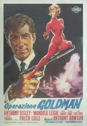 Operazione Goldman - Italian Movie Poster (thumbnail)