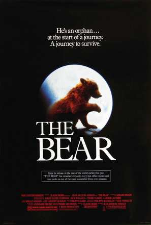 The Bear - Movie Poster (thumbnail)