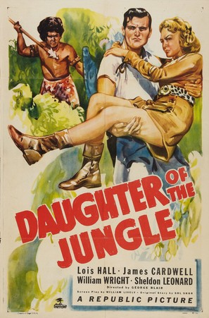 Daughter of the Jungle - Movie Poster (thumbnail)