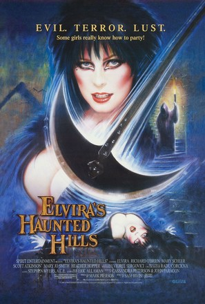 Elvira's Haunted Hills - Theatrical poster (thumbnail)