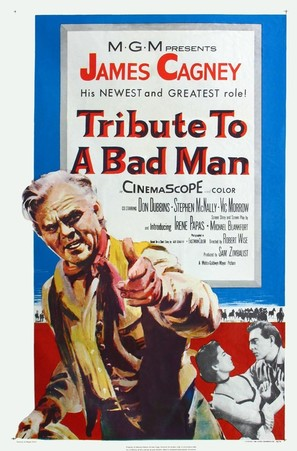 Tribute to a Bad Man - Movie Poster (thumbnail)