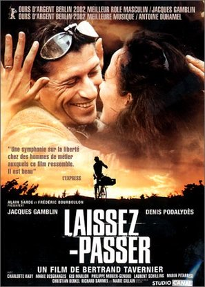 Laissez-passer - French Movie Poster (thumbnail)