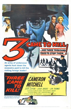 Three Came to Kill - Movie Poster (thumbnail)