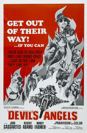 Devil's Angels - Movie Poster (thumbnail)