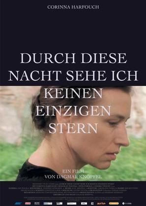 Durch diese Nacht sehe ich keinen einzigen Stern - German poster (thumbnail)