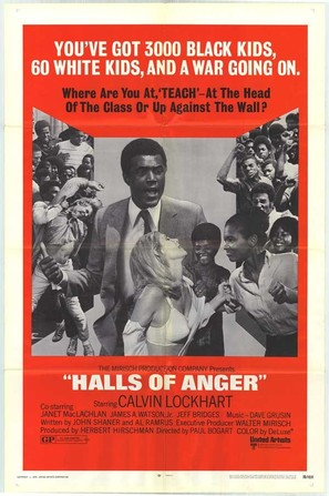 Halls of Anger - Theatrical poster (thumbnail)