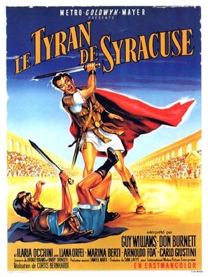 Il tiranno di Siracusa - French Movie Poster (thumbnail)