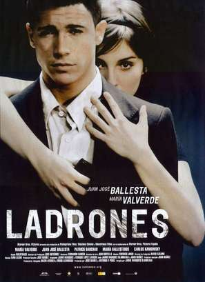 Ladrones - Spanish Movie Poster (thumbnail)