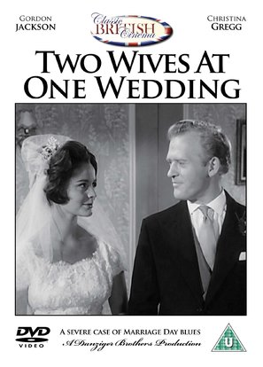 Two Wives at One Wedding - British DVD movie cover (thumbnail)