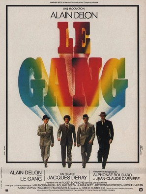 Gang, Le - French Movie Poster (thumbnail)
