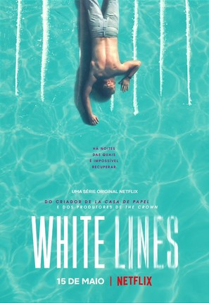 """White Lines"" - Portuguese Movie Poster (thumbnail)"
