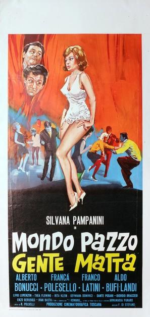 Mondo pazzo... gente matta! - Italian Movie Poster (thumbnail)