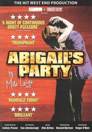 """""""Play for Today"""" Abigail's Party - British Movie Cover (thumbnail)"""
