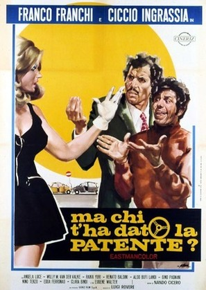 Ma chi t'ha dato la patente? - Italian Movie Poster (thumbnail)