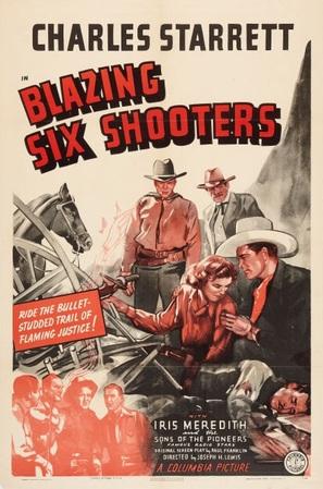 Blazing Six Shooters - Movie Poster (thumbnail)