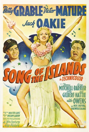 Song of the Islands - Movie Poster (thumbnail)