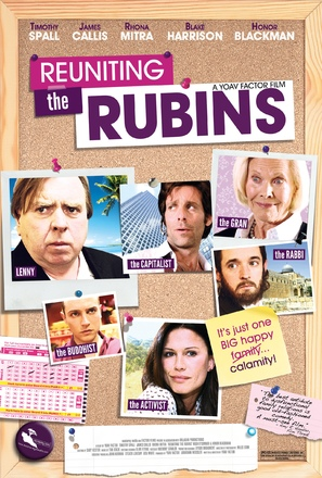 Reuniting the Rubins - British Movie Poster (thumbnail)