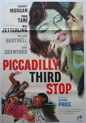Piccadilly Third Stop - British Movie Poster (thumbnail)