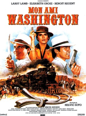 Mon ami Washington - French Movie Poster (thumbnail)